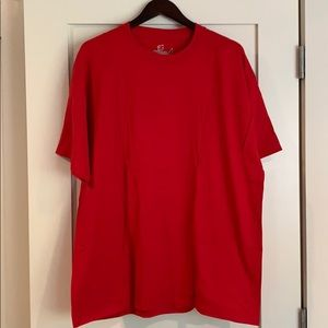 Hanes Red beefy-T size XL